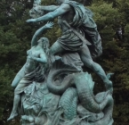A classical story in a statue,