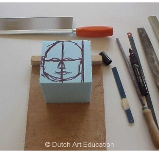 Chop a portrait in roofmate  | Dutch Art Education