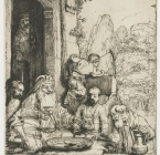 Rembrandt / Religion / Hospitality / 2D / 3D.