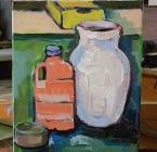 How to paint acrylic still life