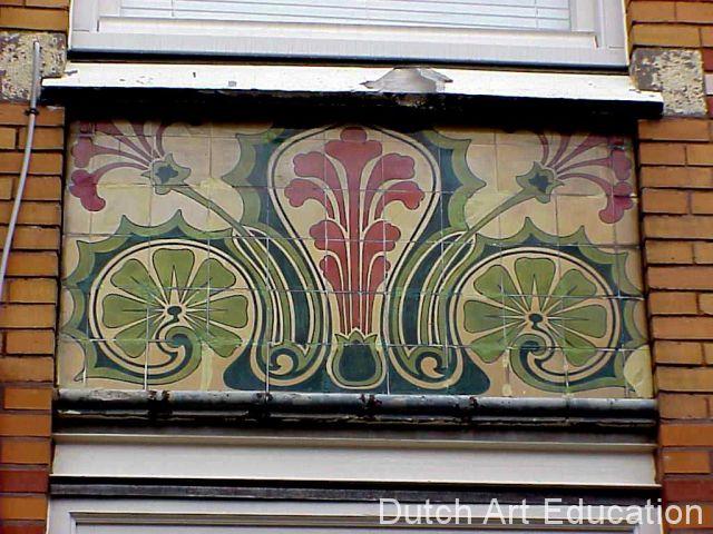 Jugendstil / art nouveau.