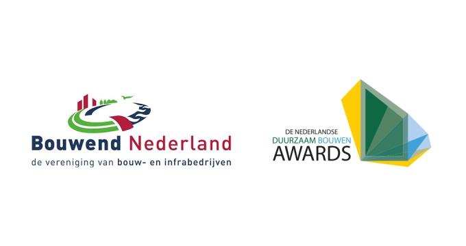 Bouwend Nederland verbindt zich wederom aan de Nederlandse Duurzaam Bouwen Awards
