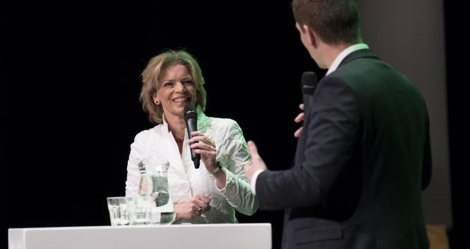 Inge Diepman dagvoorzitter Duurzaam Gebouwd Congres 2019