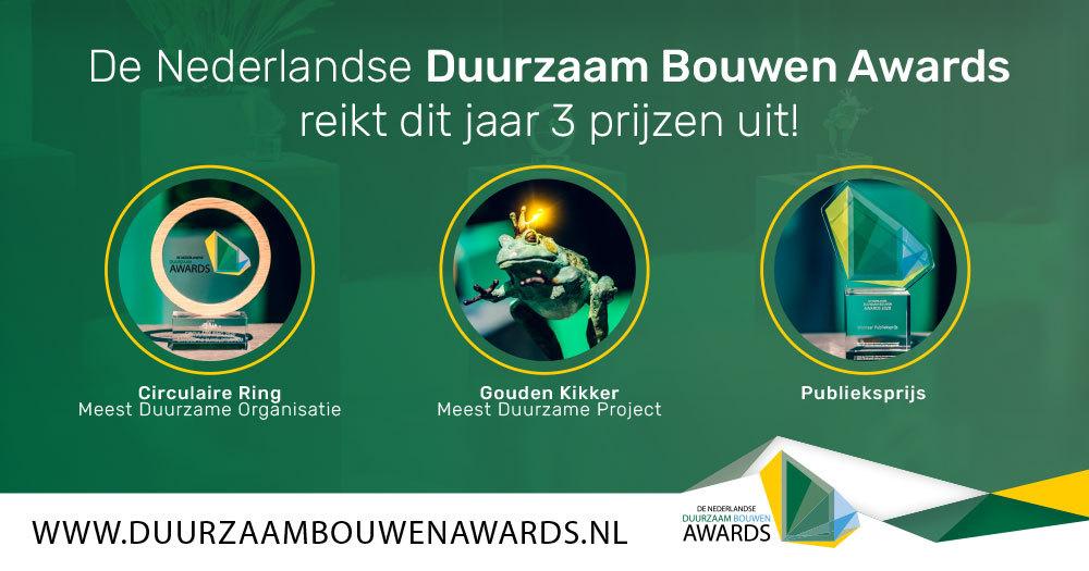 Duurzaam Bouwen Awards 2021