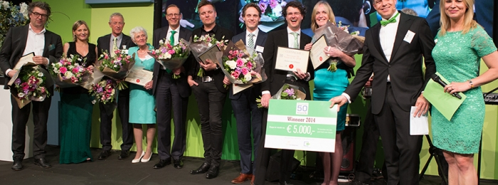 Perfect match voor Green Tie Gala 2015