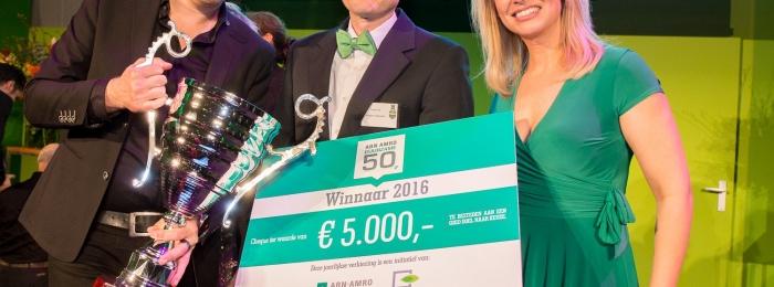 Roger Cox wint ABN AMRO Duurzame 50