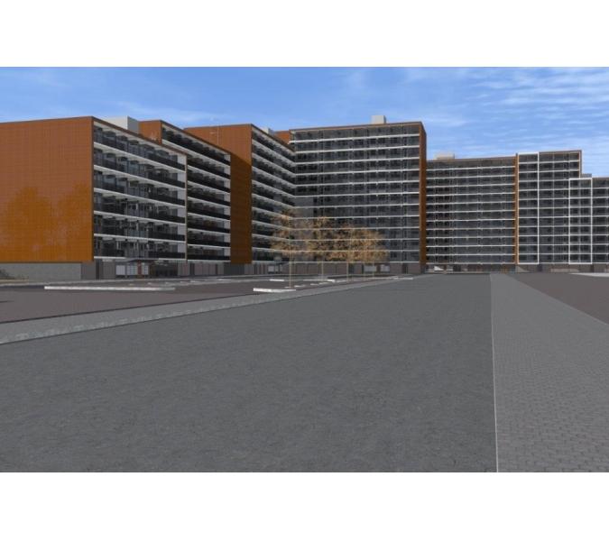 Flats veranderen in appartementencomplexen