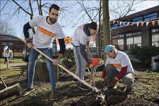 Het Oranje Fonds organiseert de grootste vrijwilligersactie van Nederland: NLdoet