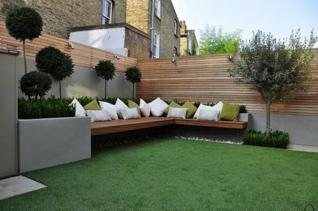 Moderne tuinontwerpen om u te inspireren