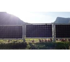 2-in-1 weideafrastering kan zonne-energie produceren