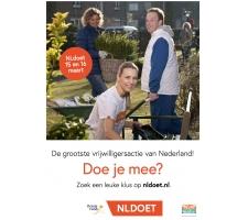 NLDoet, de grootste vrijwilligersactie van Nederland. Doe je mee?