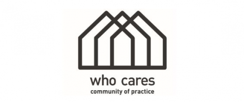 Logo WHO CARES community of practice