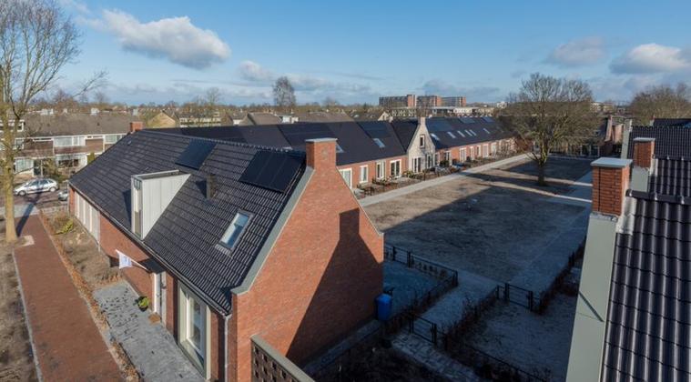 Aahof in Zwolle, eerste Knarrenhof in Nederland